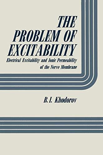 The Problem of Excitability: B. I. Khodorov