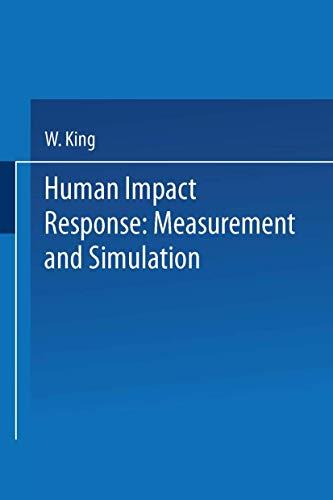Human Impact Response:Measurement and Simulation