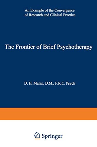 9780306308956: The Frontier of Brief Psychotherapy: An Example of the Convergence of Research and Clinical Practice (Topics in General Psychiatry)