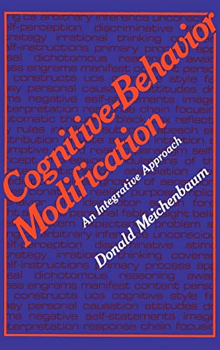 9780306310133: Cognitive-Behavior Modification: An Integrative Approach (The Plenum Behavior Therapy Series)