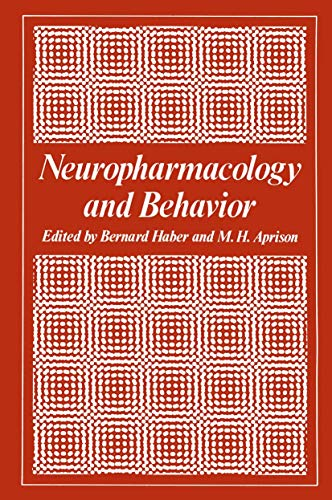 9780306310560: Neuropharmacology and Behavior