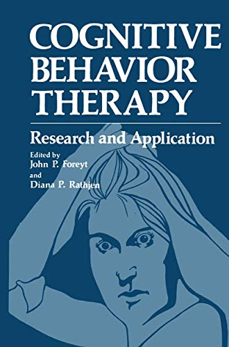 Cognitive Behavior Therapy:Research and Application: Foreyt, John