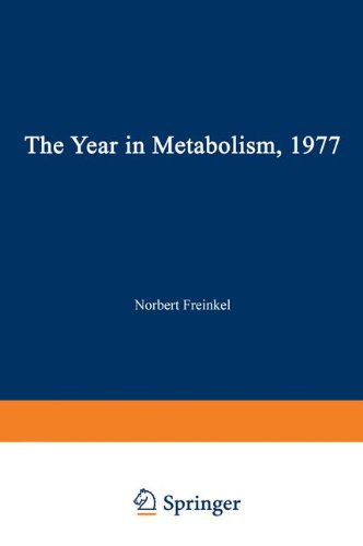 9780306320026: The Year in Metabolism 1977