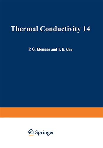 9780306331145: Thermal Conductivity 14.