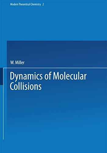 9780306335020: Dynamics of Molecular Collisions, Part B (Modern Theoretical Chemistry)