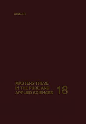 9780306341182: Masters Theses in the Pure and Applied Sciences