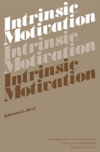 9780306344015: Intrinsic Motivation (Perspectives in Social Psychology, Vol. 1)
