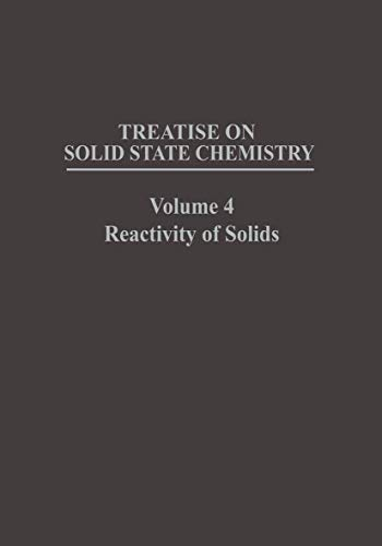 Treatise on Solid State Chemistry Volume 4 Reactivity of Solids: na