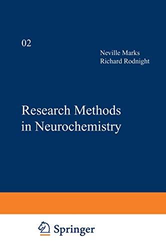 9780306360022: Research Methods in Neurochemistry: Volume 2