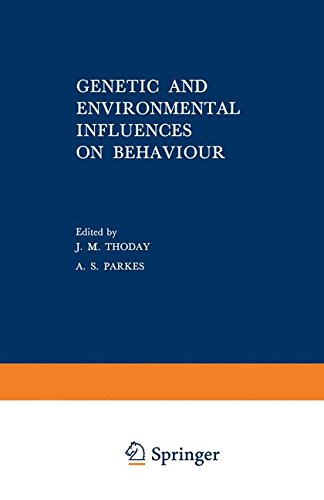 9780306387043: Genetic and Environmental Influences on Behavior