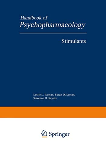 9780306389313: Handbook of Psychopharmacology, Volume 11: Stimulants