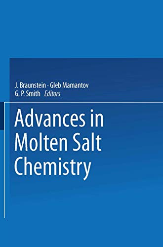 9780306397028: Advances in Molten Salt Chemistry: Volume 2 (v. 2)