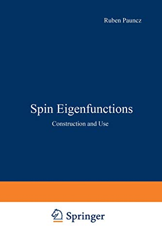 9780306401411: Spin Eigenfunctions: Construction and Use