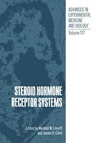 9780306401824: Steroid Hormone Receptor Systems (Advances in Experimental Medicine & Biology (Springer))