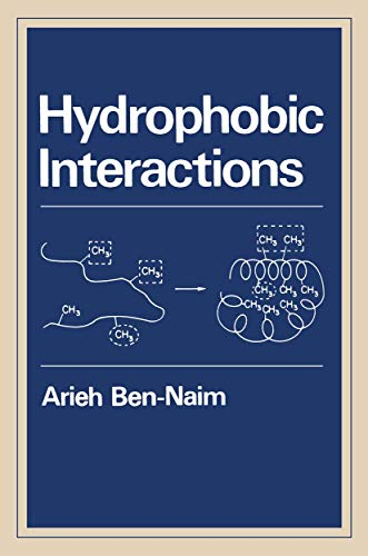 9780306402227: Hydrophobic Interactions