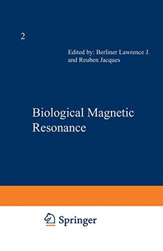 9780306402647: Biological Magnetic Resonance: Volume 2