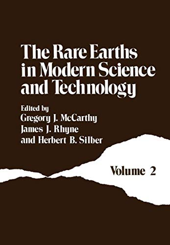9780306403477: 002: The Rare Earths in Modern Science and Technology: Volume 2