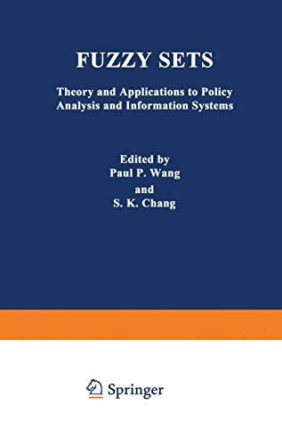 Fuzzy Sets: Theory and Applications to Policy: n/a