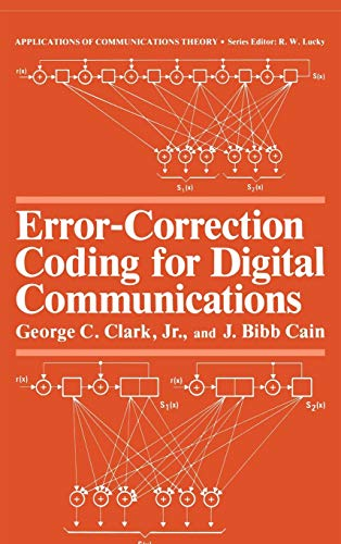 Error-Correction Coding for Digital Communications (Applications of