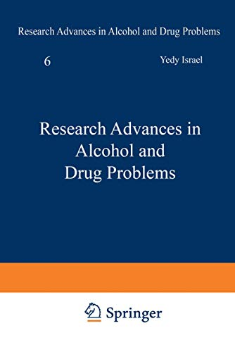 Research Advances in Alcohol and Drug Problems Volume 6: n/a