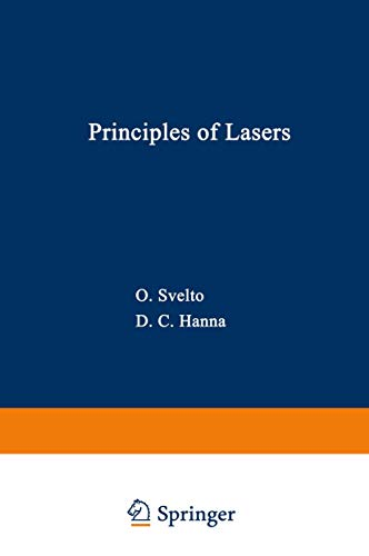 Principles of Lasers, 2nd Edition: Svelto, Orazio