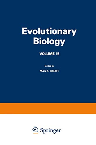 9780306410420: Evolutionary Biology: 15