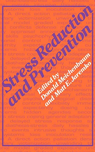 9780306410666: Stress Reduction and Prevention