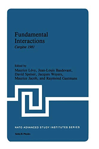 Fundamental Interactions Carg