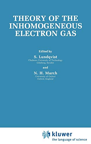 9780306412073: Theory of the Inhomogeneous Electron Gas (Physics of Solids and Liquids)