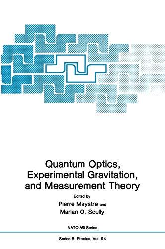Quantum Optics, Experimental Gravity, and Measurement Theory (Nato Science Series B:)