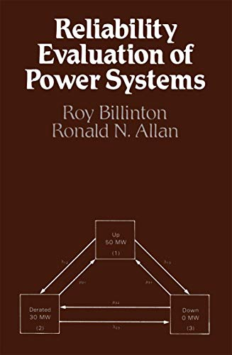 9780306414503: Reliability Evaluation of Power Systems
