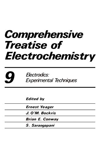 9780306415708: Comprehensive Treatise of Electrochemistry (Comprehensive Treatise of Electrochemistry, Vol. 9)
