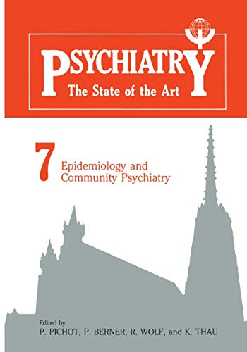 9780306416071: Epidemiology and Community Psychiatry (Psychiatry, the State of the Art)