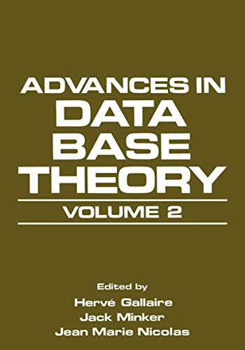 Advanced In Data Base (Database) Theory, Volume 2
