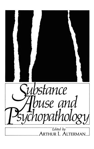 9780306418495: Substance Abuse and Psychopathology (Applied Clinical Psychology)