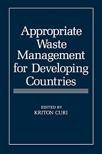 9780306419096: Appropriate Waste Management for Developing Countries