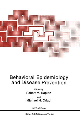 9780306419294: Behavioral Epidemiology and Disease Prevention (Nato Science Series A:)