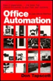 9780306419737: Office Automation : A User-Driven Method (Applications)