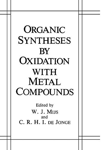 9780306419997: Organic Syntheses by Oxidation with Metal Compounds