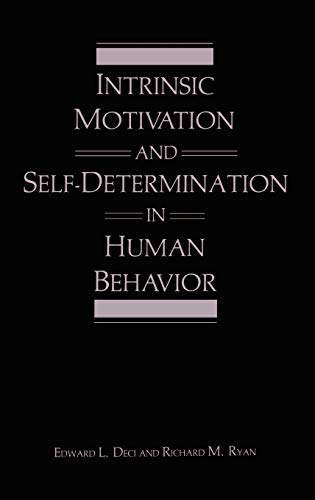 9780306420221: Intrinsic Motivation and Self-Determination in Human Behavior (Perspectives in Social Psychology)