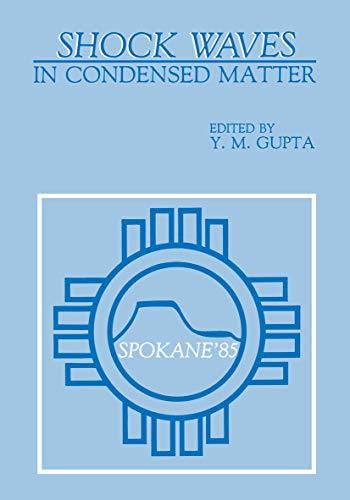 9780306422768: Shock Waves in Condensed Matter