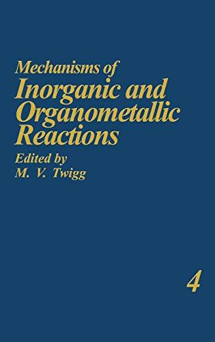 9780306423321: Mechanisms of Inorganic and Organometallic Reactions Volume 4