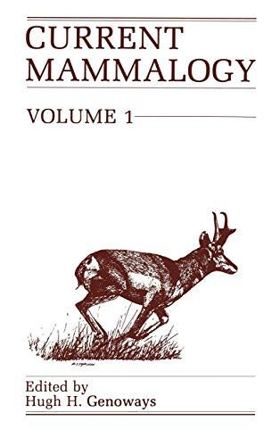 9780306424304: 001: Current Mammalogy, Volume 1