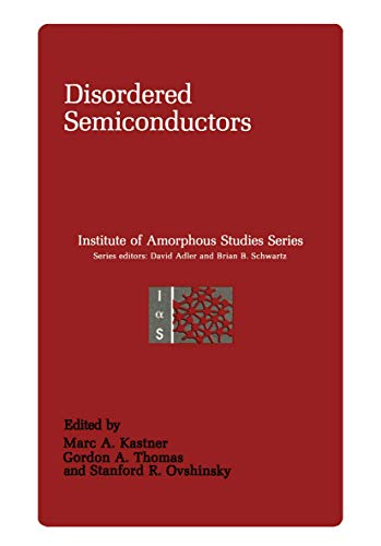 9780306424946: Disordered Semiconductors (Institute for Amorphous Studies Series)
