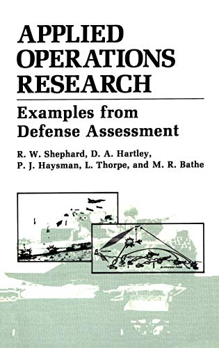 9780306425189: Applied Operations Research (Examples from Defense Assessment)