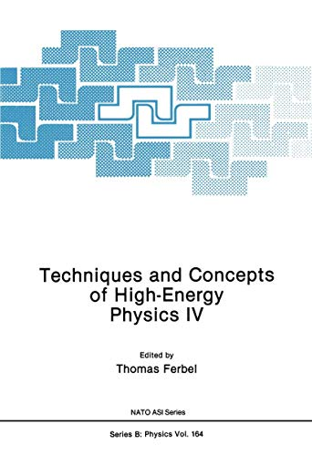 9780306426889: Techniques and Concepts of High-Energy Physics IV (Nato Science Series B:)