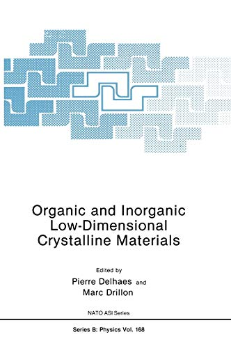 Organic and Inorganic Low-Dimensional Crystalline Materials (Nato Science Series B:): Drillon, Marc...