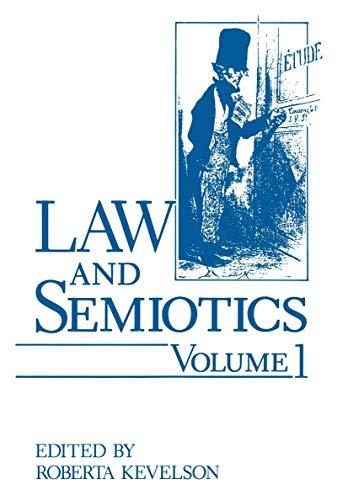 Law and Semiotics Volume 1