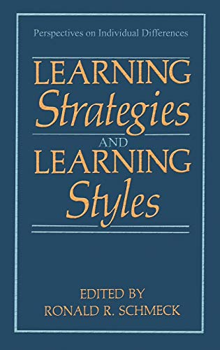 9780306428609: Learning Strategies and Learning Styles (Perspectives on Individual Differences)