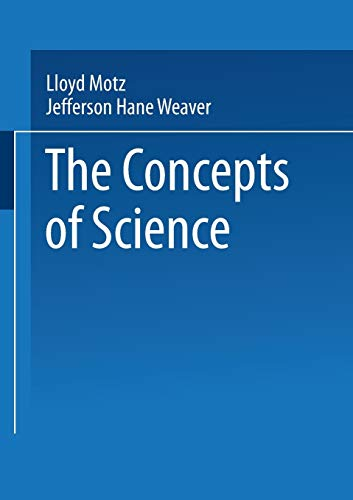 9780306428722: The Concepts of Science: From Newton to Einstein